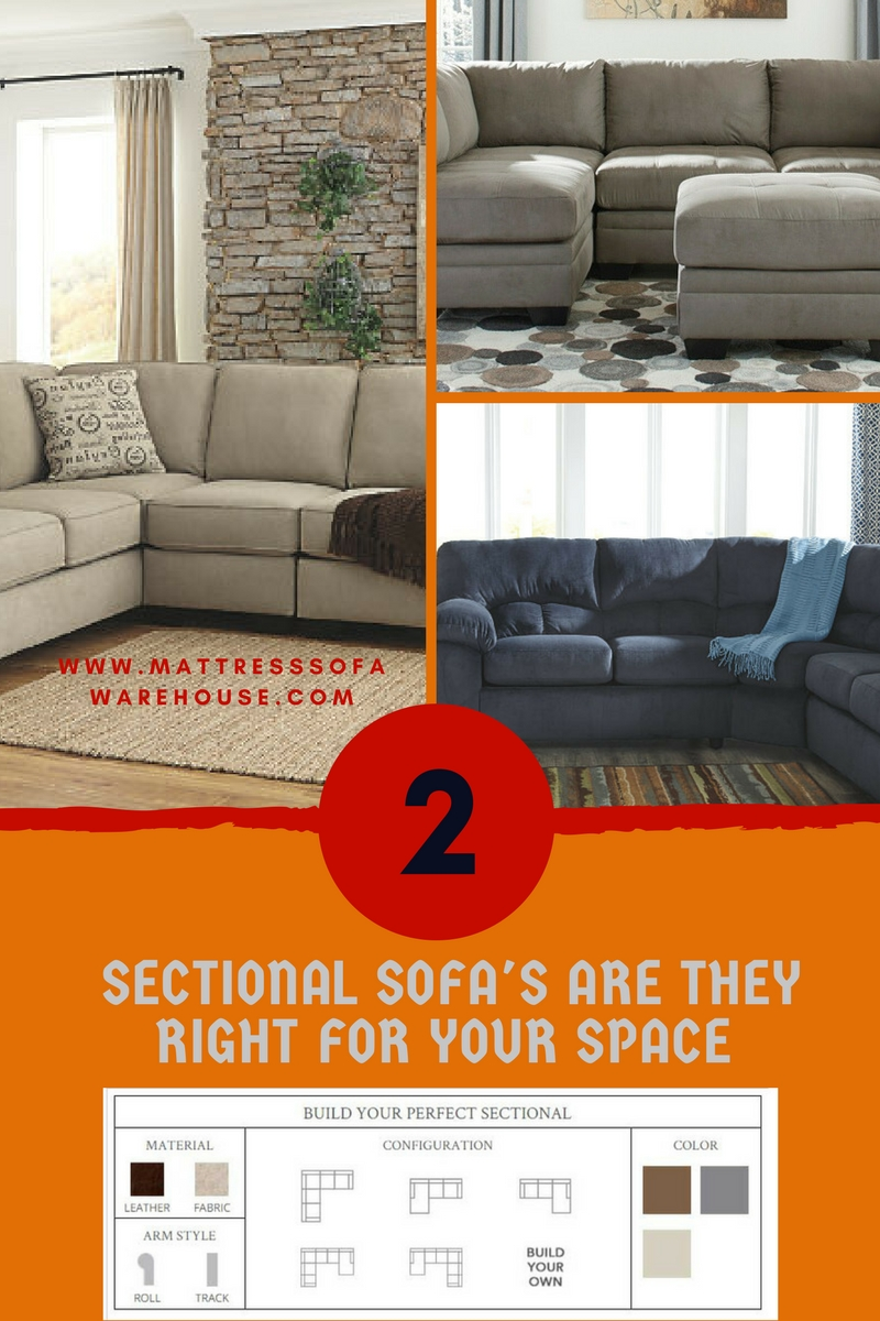 Sectional Sofas At The Mattress amp Sofa Warehouse