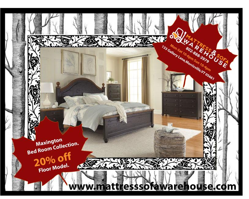 The Maxington Bedroom Set Mattress Sofa Warehouse