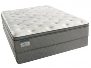 Simmons BeautySleep Keyes Peak Pillow Top Luxury Firm Queen Mattress Set