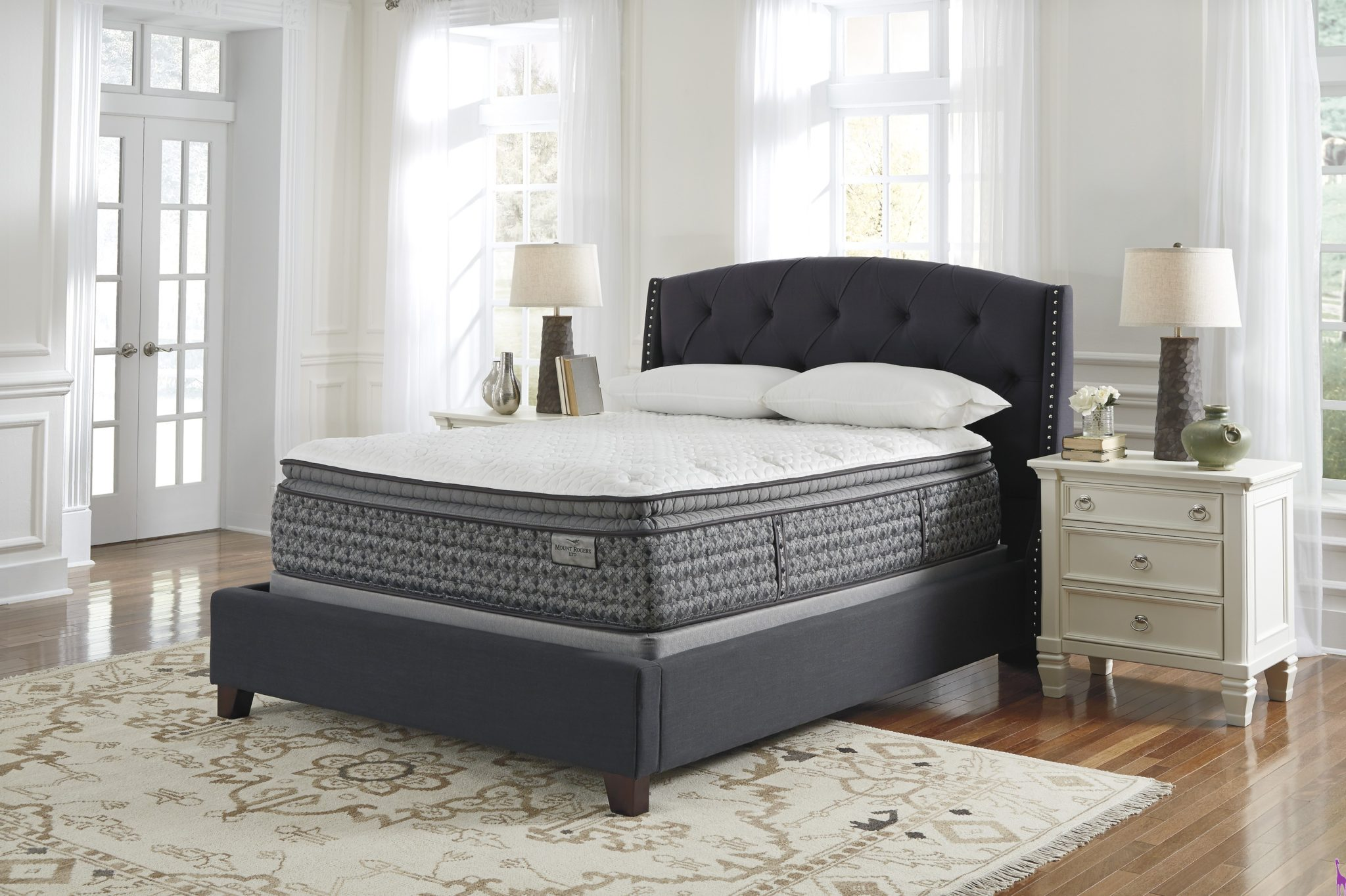 style mattress european to furniture pillow queen serta pin conforms king bed size plush top s the