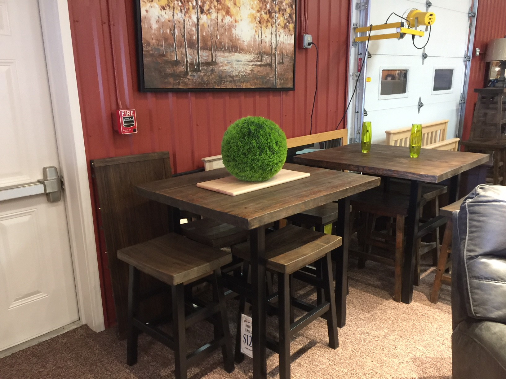 RYEGATE COLLECTION Live Edge Dining Table