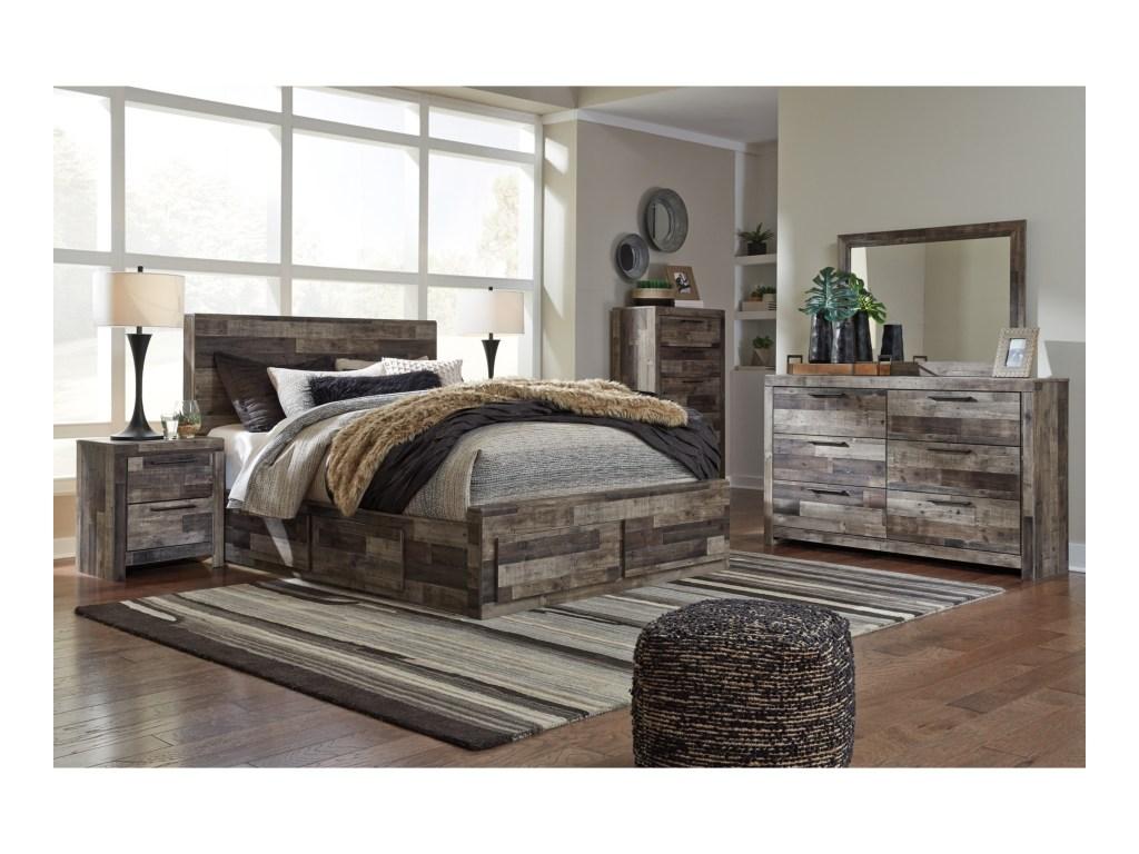 Benchcraft By Ashley Derekson Queen Bedroom Group