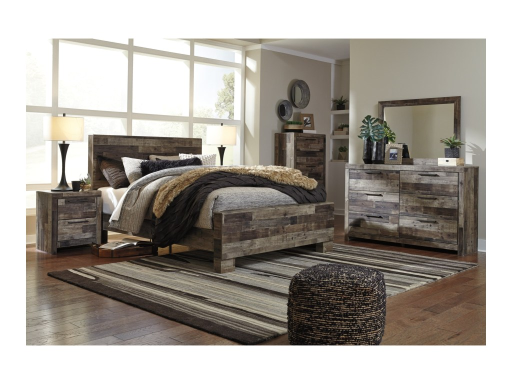 Modern Ashley Bedroom Set Minimalist