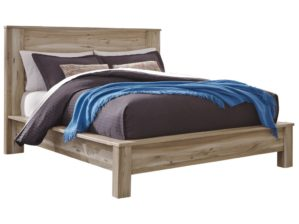 Benchcraft by Ashley Kianni Contemporary Queen Platform Bed