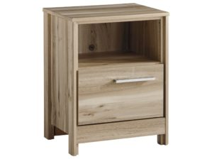 Benchcraft by Ashley Kianni Contemporary One Drawer Night Stand with USB Charger