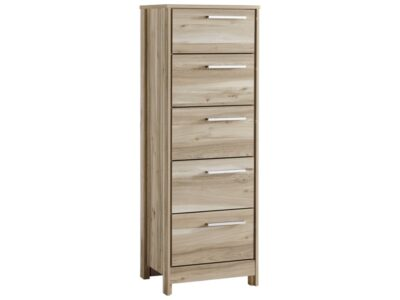 Benchcraft by Ashley Kianni Contemporary Five Drawer Lingerie Chest