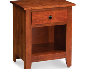 Shenandoah Nightstand with Opening on Bottom, Character Cherry #26 Michael's