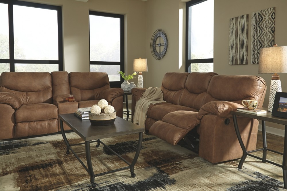 Boxberg Reclining Loveseat W Consol Mattress Sofa