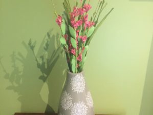 Essentials Taupe Small Vase