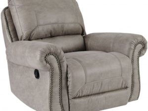 Olsberg Rocker Recliner in Steel