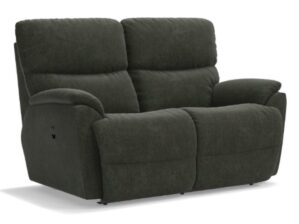 LA-Z-BOY TROUPER RECLINING LOVESEAT in INK