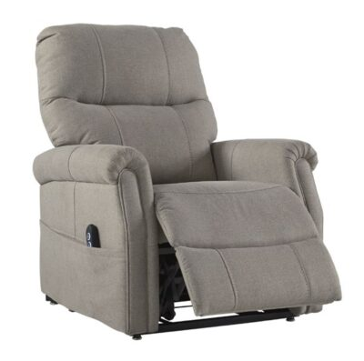 Ashley Furniture Markridge Gray Power Lift Recliner